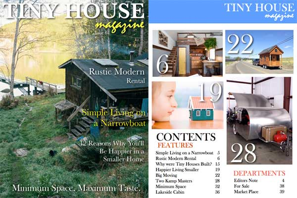 Tiny House Magazine Issue 6