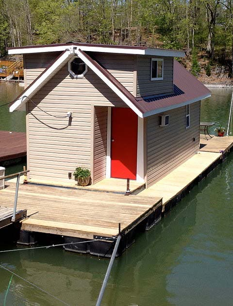 refurbished boat house