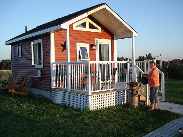 Our guest cabin for Guest cabin plans