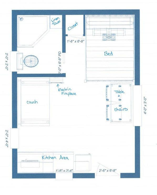 16 x 16 2 story cabin floor plans joy studio design for 12x16 living room layout