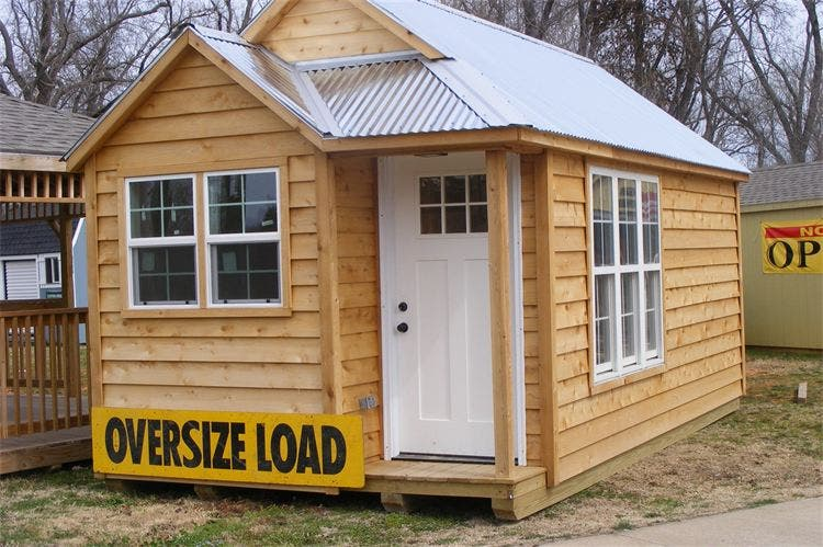 Showcase Sheds Tiny House on prefab cottage small houses floor plans