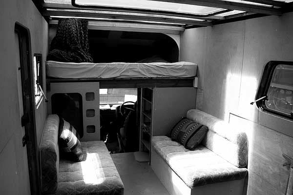 Interior Looking Forward Van And Caravan