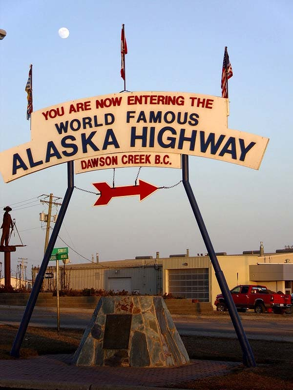 Welcome to the Alaska Highway