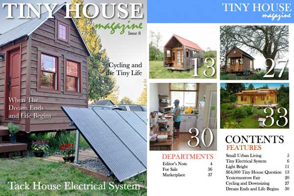 Tiny House Magazine Issue 8
