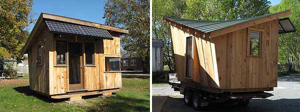 Green Mountain College Tiny House