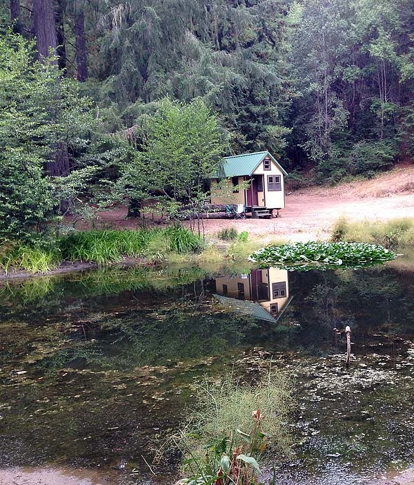 tiny house across the pond