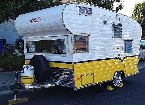 backside of Scotsman trailer