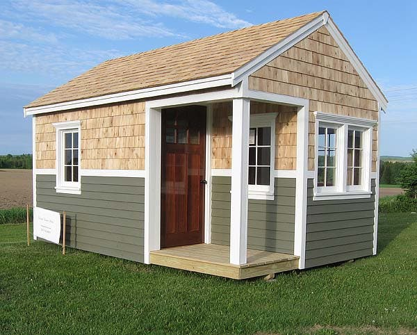shed tiny house project