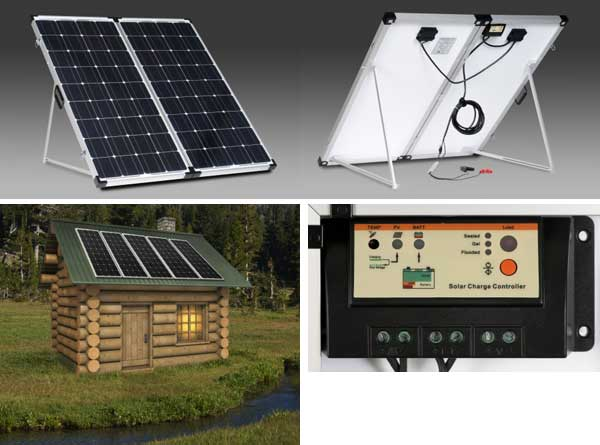 portable and cabin solar