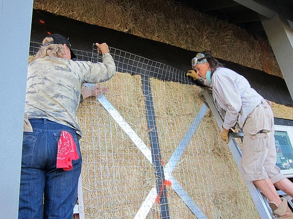 installing mesh