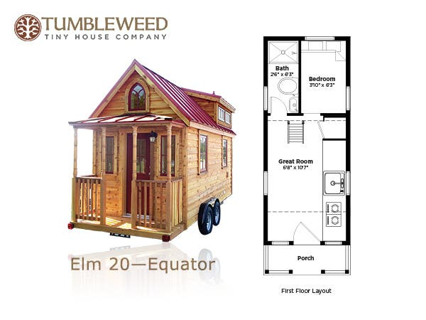 Tumbleweed tiny house company plans redesign for House plan companies