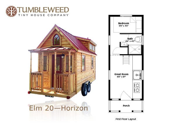Tumbleweed tiny house company plans redesign for Tiny home blueprints free