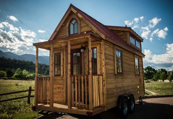 We've talked about The Tumbleweed Tiny House Company on Silodrome before, it's always a popular subject as we're all prone to bouts of wanderlust and a little cabin on wheels that you can build in your backyard is the kind of thing that has broad appeal to adventurer inside all of us.