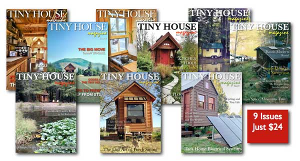 Tiny House Magazine Sale