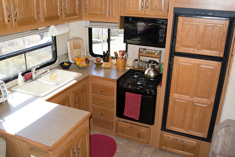 fifth wheel kitchen