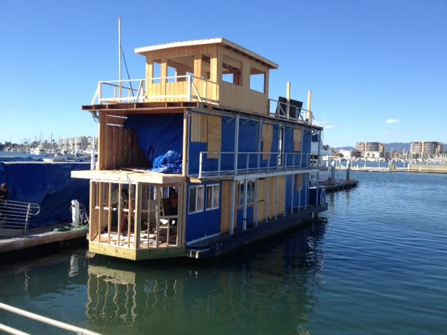 Misty Tosh's Houseboat - Tiny House Blog