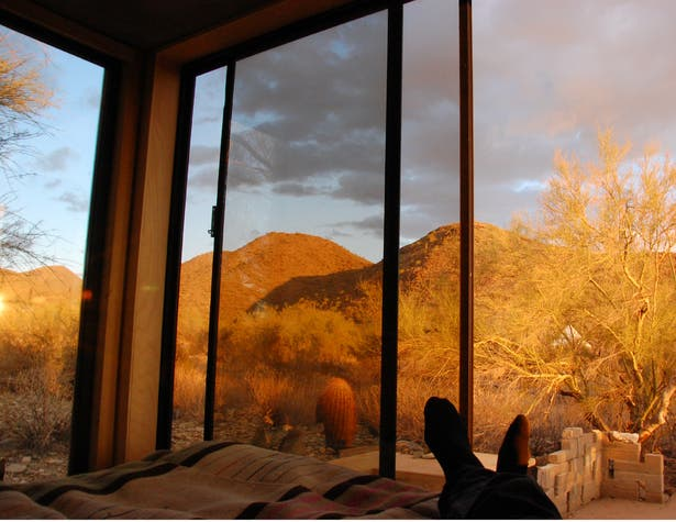 Taliesin West Miner S Shelter Tiny House Blog