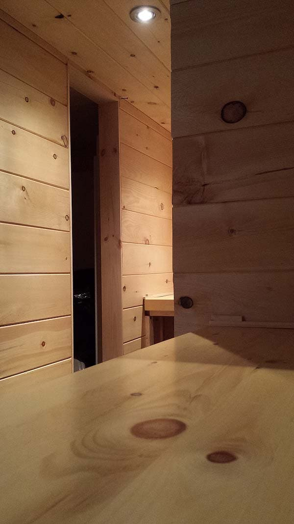 tiny house walls