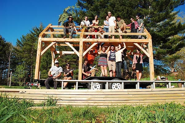 timber frame crew