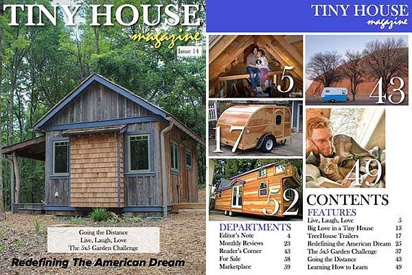 Tiny House Magazine Issue 14