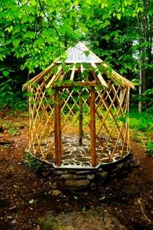 10 foot yurt