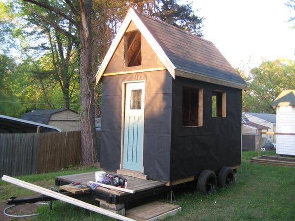 tiny house build 2