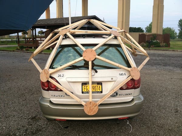 dome on car