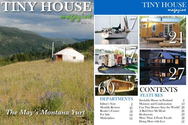 Tiny House Magazine Issue 16