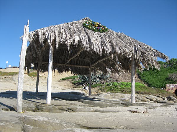 windansea-beach-grass-hut