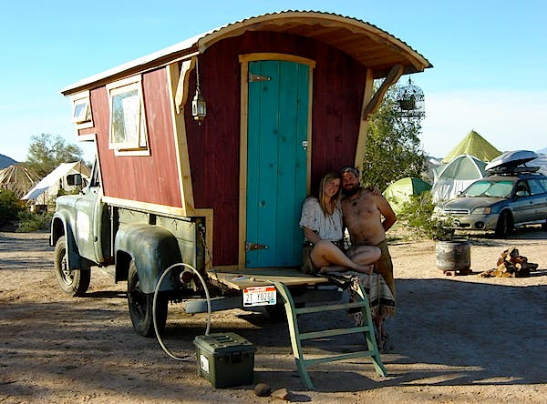 Handbuilt Gypsy Camper Dream Home For Sale