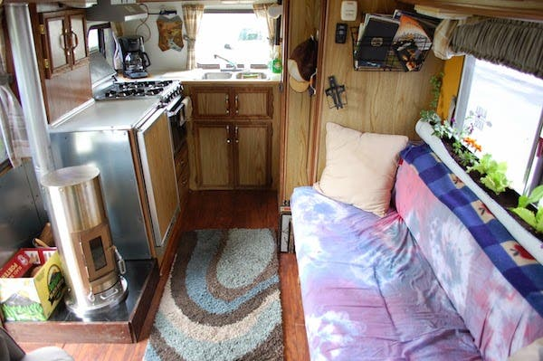 Winter Rv Living In Alaska
