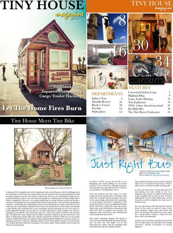 Tiny House Magazine Issue 17