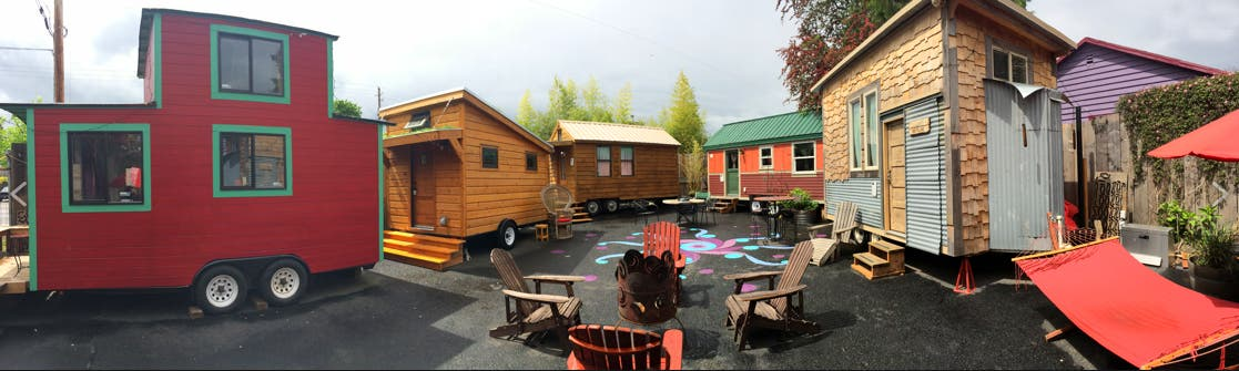 Inaugural ADU Tour in Portland Tiny House Blog