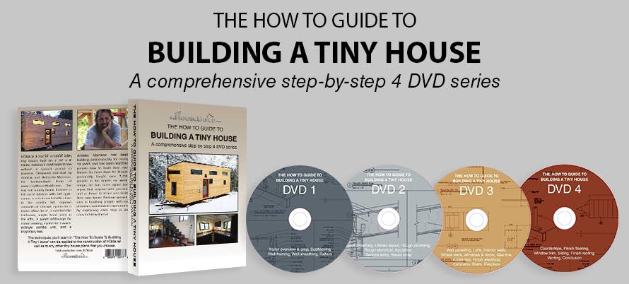 Building A Tiny House DVD Series