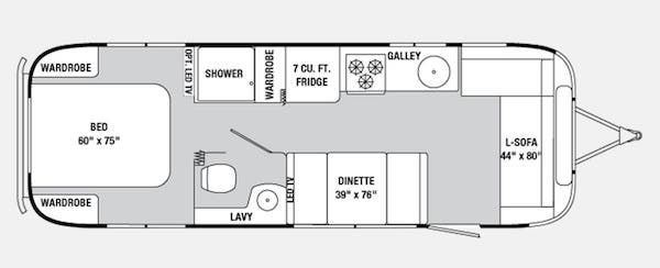 28 foot floor plan