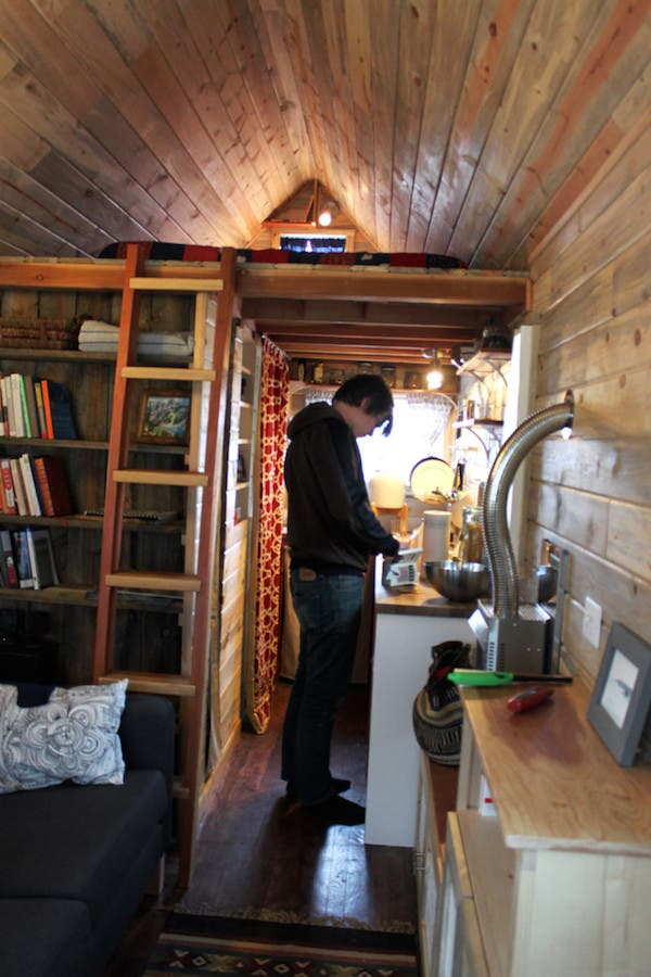 Tiny house documentary now on dvd and itunes for Two story house inside