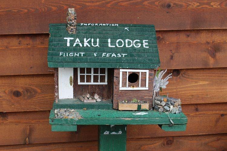 Taku Lodge mailbox