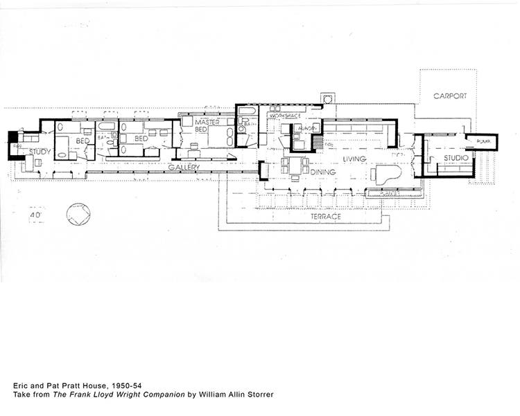 Finding freedom a return to usonia for Frank lloyd wright floor plans