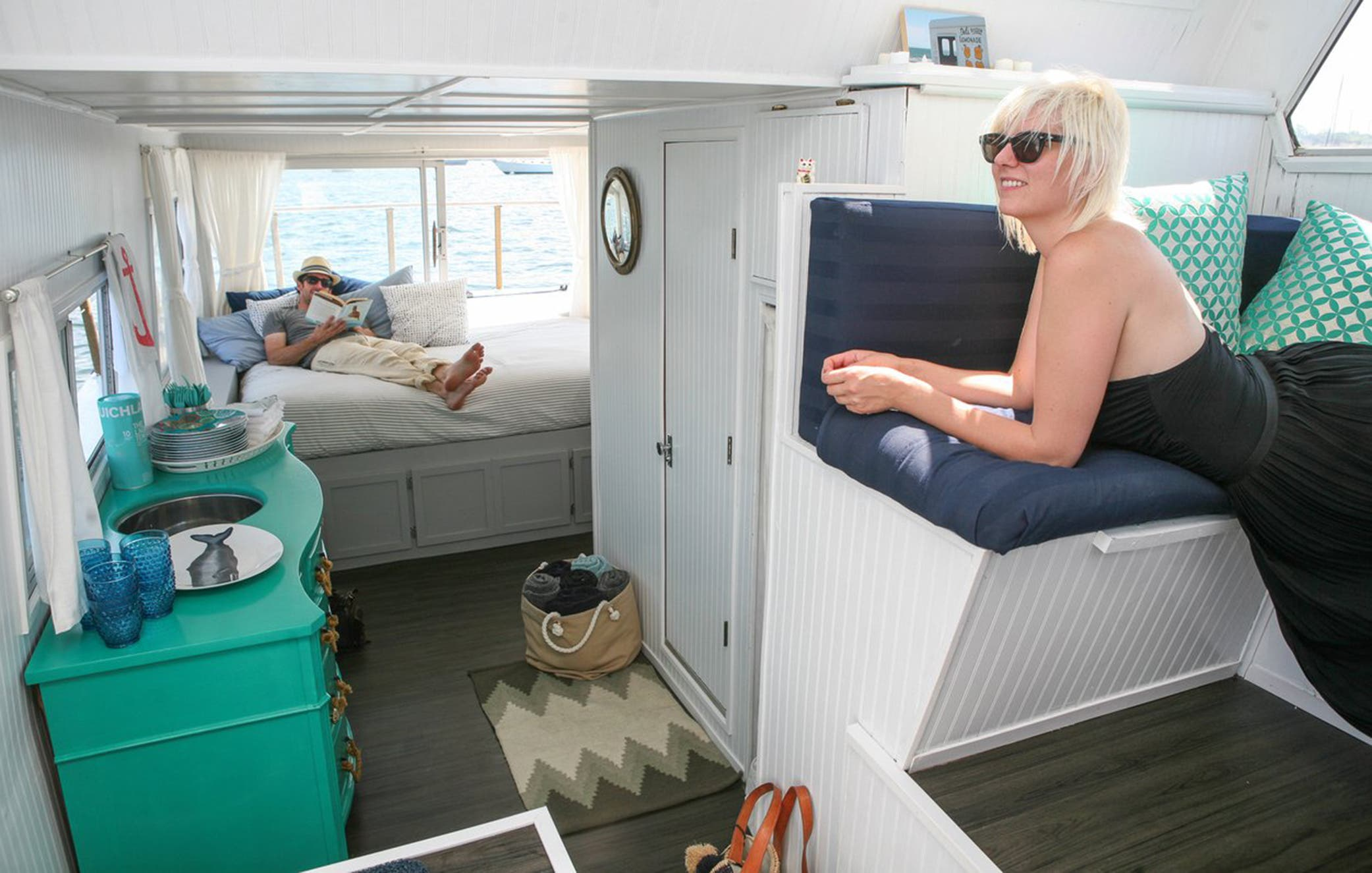 Tiny House Tub Or Boat For Those Of You Without Sea Legs Part 3
