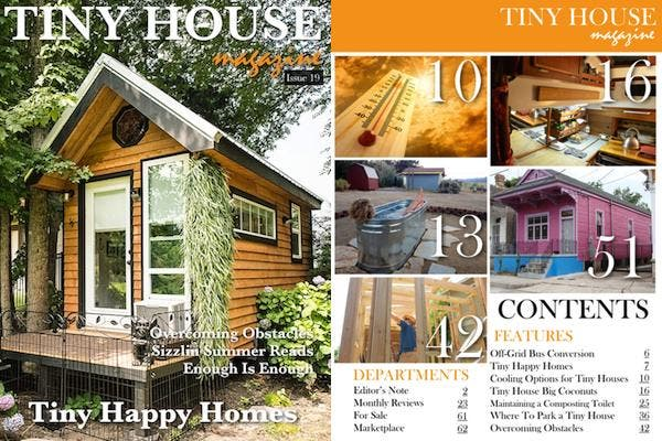 Tiny House Magazine Issue 19
