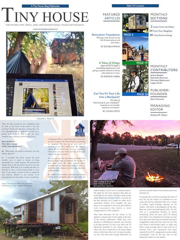 Tiny House Magazine Issue 20