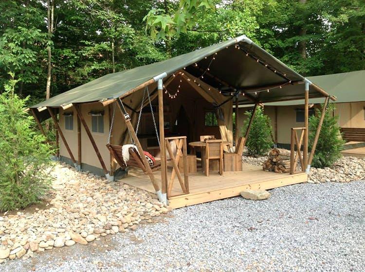 Brilliant Safari Tents And Glamping In Gatlinburg Download Free Architecture Designs Estepponolmadebymaigaardcom