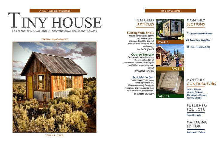 Tiny House Magazine Issue 21