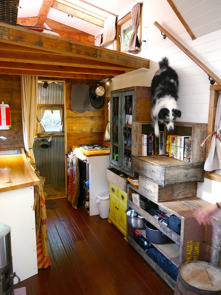 Tiny house giant journey and deek for Diy tiny home cost