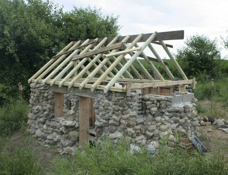 Alex s hovel for Building a stone house