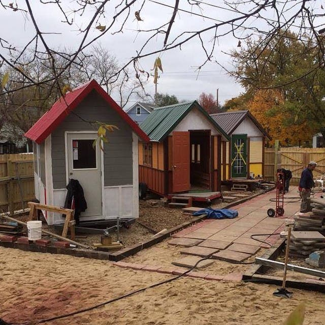 Madison Tiny House Village for the Homeless #tinyhouse #tinyhouses #tinyhouseblog #tinyhouseliving #tinyhome #tinyhomes #tinyhousemovemeny