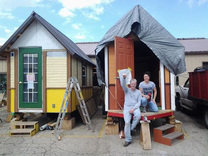 Occupy Madison Tinyhouse2 Building Tiny House Village