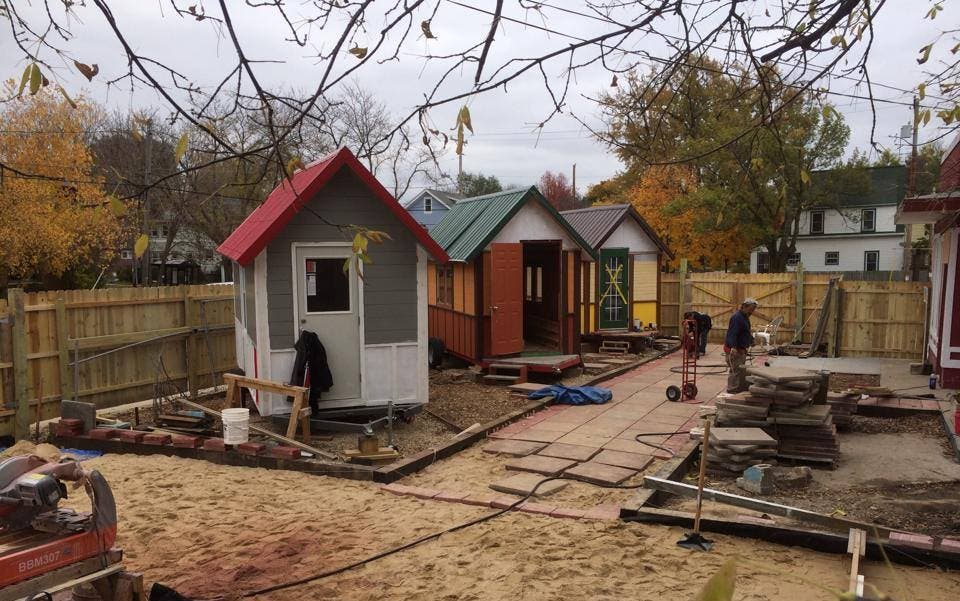 Madison Tiny House Village For The Homeless Tiny House Blog