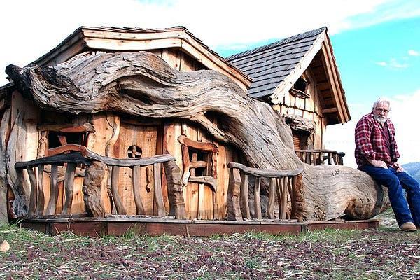 Steve Blanchard 39 S Chainsaw Tiny Houses Tiny House Blog