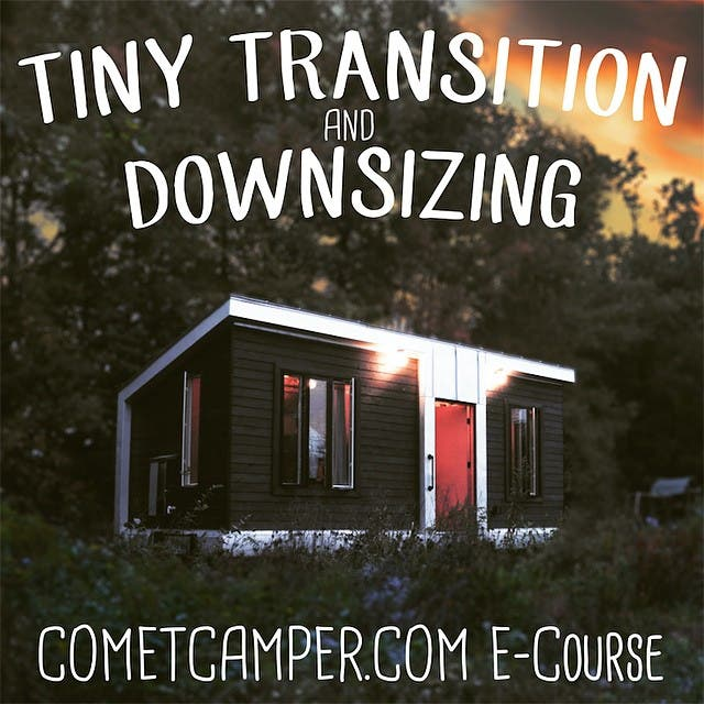 Don't miss this one! #tinyhouseliving #tinyhouseblog #tinyhousemovement #tinyhome #ecourse #cometcamper